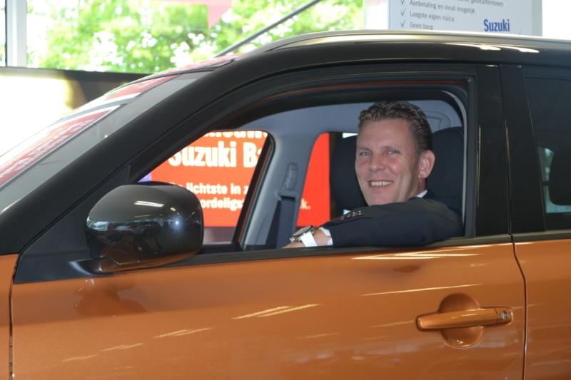 Auto Reef verkoopleider Arjen Fijn van Draat