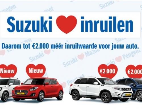Suzuki loves inruilen