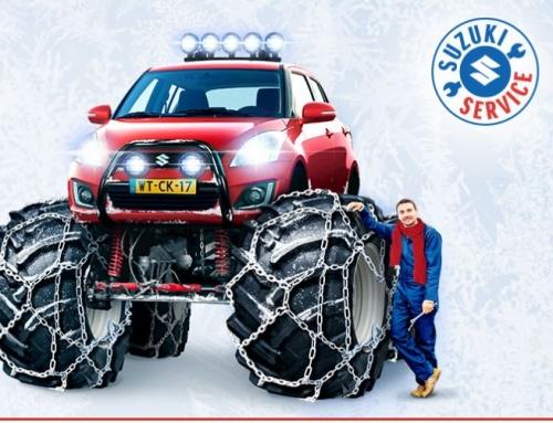 Suzuki Wintercheck, Maak uw Suzuki extreem winterklaar