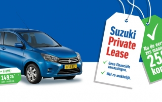 Suzuki Private lease actie bij Auto Reef