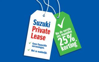 Private lease actie bij Auto Reef