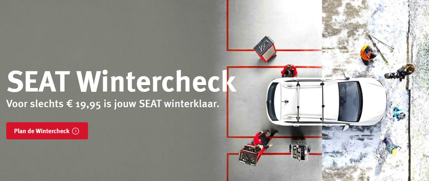 SEAT Wintercheck bij Auto Reef