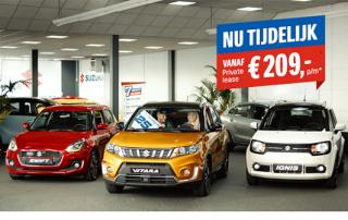 Auto Reef Private Lease actie van Suzuki