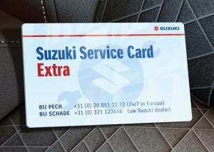 Suzuki Service Card Extra