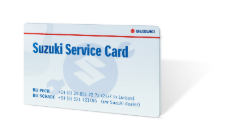 Suzuki Service Card