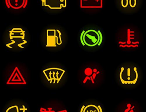 Belangrijke dashboardlampjes