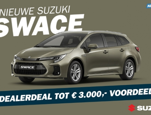 Suzuki Swace Dealerdeal tot 3000 euro voordeel